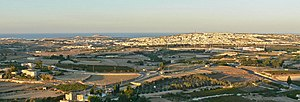 Ta' Qali - View of Ta' Qali from Mdina