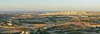 Ta' Qali - View of Ta' Qali from Mdina