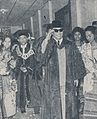 Sukarno receiving honorary PHD, Bung Karno Penjambung Lidah Rakjat 250.jpg