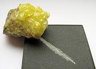 Schwefelkristall