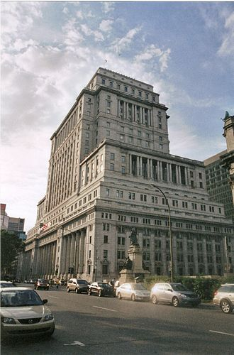 Sun Life Financial - The Sun Life building in Montreal, Quebec