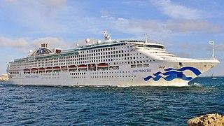 <i>Sun Princess</i> cruise ship
