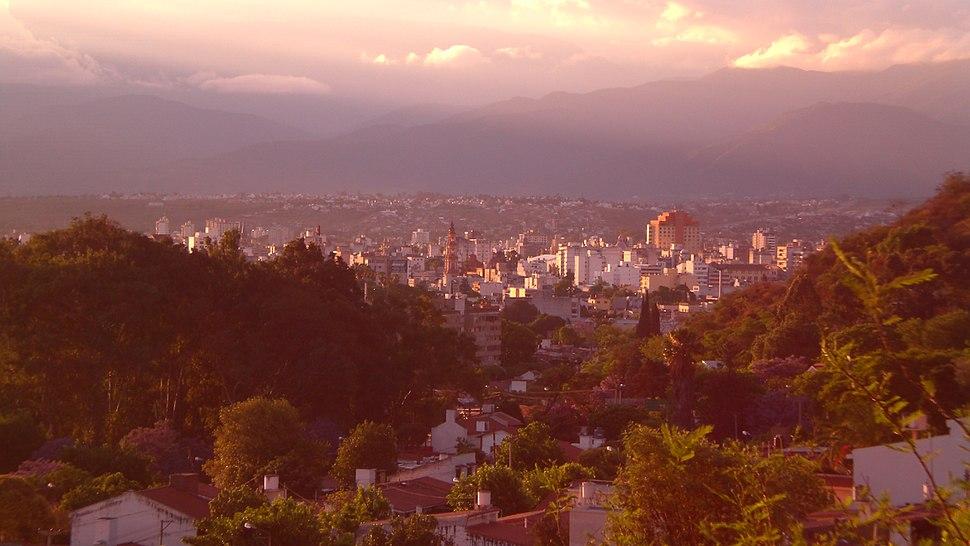 Sunny evening in Salta
