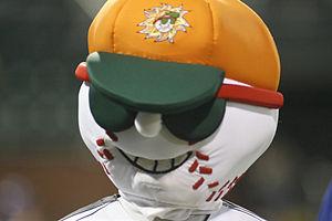 DeLand Suns - Suns' mascot, Sunny