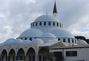 Turkish Cypriot diaspora - The Sunshine Mosque, in Melbourne, was built by the Cyprus Turkish Islamic Society in 1992.
