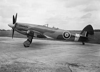 Supermarine Spiteful - Supermarine Spiteful FXIV, RB517