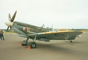 No. 316 Polish Fighter Squadron - A Spitfire from 316 Squadron