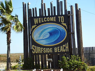 Surfside Beach, Texas City in Texas, United States