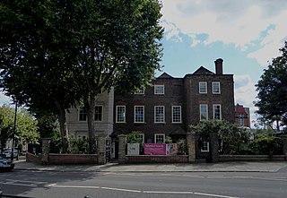 Sutton House, London Tudor manor house in Homerton High Street, Hackney, London, England
