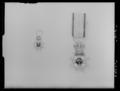 Svärdsorden riddarkors miniatyr, 30338; tjänstetecken KMO - Livrustkammaren - 70715.tif