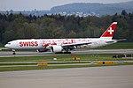 """Swiss International Air Lines Boeing 777-3DE-ER HB-JNA """"Faces of Swiss"""" livery (26648913396).jpg"""