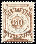 Switzerland Adliswil 1915 revenue 30c - 8.jpg