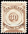 Switzerland Adliswil 1915 revenue 30c - 8.jpg