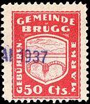 Switzerland Brügg 1935 revenue 50c - 9.jpg
