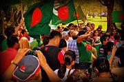 Bangladeshis at Sydney Ashfield Park, NSW, Australia