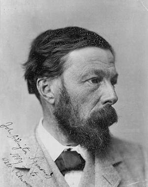 John Addington Symonds - Symonds, picture for Walt Whitman, dated 1889