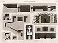 Syout (Asyût) (Lycopolis). Plan, coupes et élévation de l'hypogée principal (NYPL b14212718-1268139).jpg