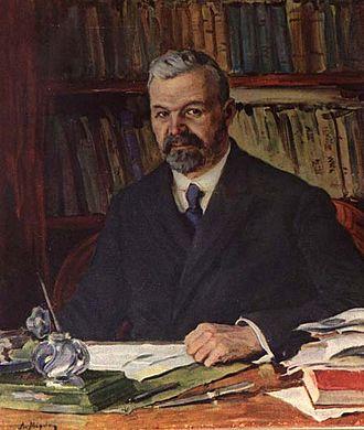 Ivan Sytin - Ivan Sytin in 1908; portrait by Alexander Moravov (1878-1951)