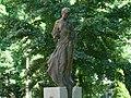 Szent Borbála (Popovics Lőrinc, 1998), Szeged, Iskola utca, 2008-06-23. - panoramio.jpg