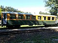 Szilvásvárad Forest Railway, Ba-w coach in Szilvásvárad, 2016 Hungary.jpg