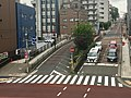 Tōkyū Tōyoko Line's waste trace Promenade 2019 (Sakuragichō - Momijizaka) 04b.jpg