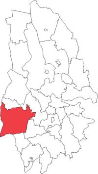 Svartå landskommune i Örebro amt