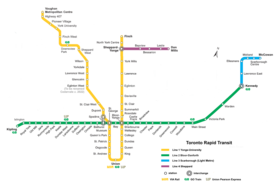 Image illustrative de l'article Métro de Toronto