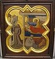 Taddeo gaddi, storie di cristo e di s. francesco (armadio di s. croce), 1335-40 ca. 16 sogno di innocenzo III.JPG