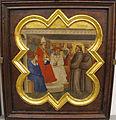 Taddeo gaddi, storie di cristo e di s. francesco (armadio di s. croce), 1335-40 ca. 18 predica davanti a onorio III.JPG