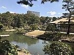 Takueichi Pond in Shukkei Garden 2.jpg