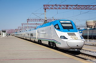 Tashkent–Samarkand high-speed rail line