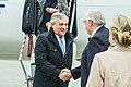 Tallinn Digital Summit. Airport arrivals HoSG Antonio Tajani (37324915276).jpg