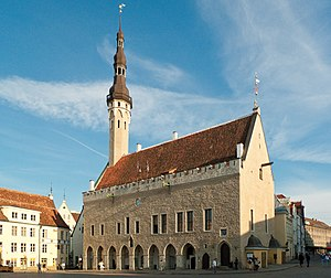 Hanseatic League - Town Hall of Reval (now Tallinn, Estonia)
