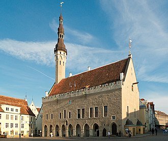 Hanseatic League - Town Hall of Reval (now Tallinn, Estonia)
