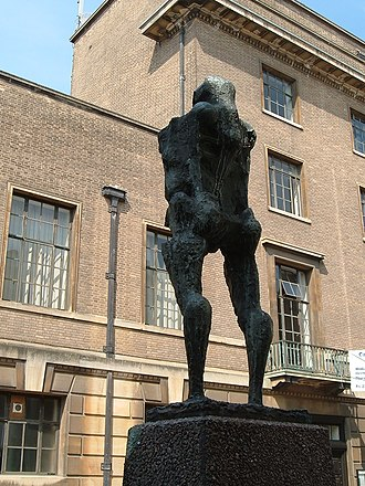 Talos - Talos, a sculpture by Michael Ayrton in Cambridge