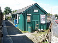 Talyllyn Railway, Pendre Station - geograph.org.uk - 1415091.jpg