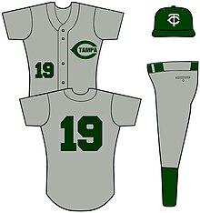 The road uniform of Tampa Catholic High School 7a9fd3d54