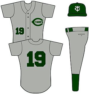 Away colours - The road uniform of Tampa Catholic High School, Florida