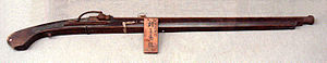 Ashigaru - A plain undecorated ''Tanegashima'', this type was used by the ashigaru.