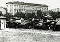 Tankok a Vérmezőn 1941-ben. Fortepan 95975.jpg