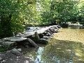 Tarr Steps - medieval clapper bridge and ford - geograph.org.uk - 53970.jpg