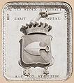 Tarvisio Via Romana 35 palazzo forestale Wappen mit Bauinschrift 26062015 5425.jpg