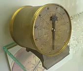 Taschenuhr nach Peter Henlein (Replikat, Quelle Wikipedia)