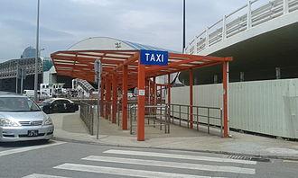 Taipa Ferry Terminal - Taxi Stand at Taipa Ferry Terminal