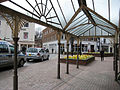 Taxi rank, St. Peter's Square, Hereford - geograph.org.uk - 739294.jpg