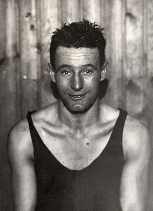 Ted Morgan (boxer) - Ted Morgan at the 1928 Olympics