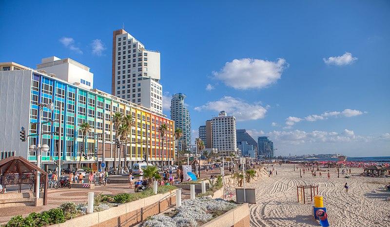 File:Tel Aviv Promenade panoramics.jpg