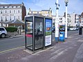 Telephone kiosks and Hotel Rex in background - geograph.org.uk - 885671.jpg