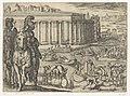 Tempel van Diana in Efeze Septem orbis admiranda (serietitel) De zeven wereldwonderen (serietitel), RP-P-H-OB-44.044.jpg