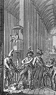 Cult of Reason State religion during the French Revolution